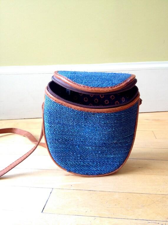 Royal Blue Moonrise Kingdom Island Bag