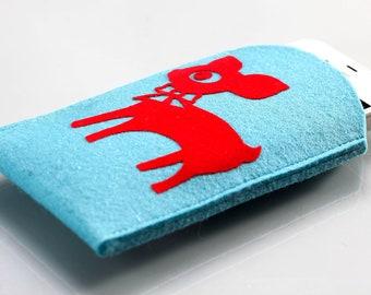 Smartphone cover sleeve : Happy Bambi
