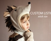 Custom listing, Fairy Tale Hedgehog Costume