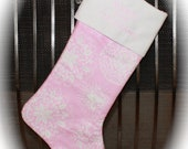 Babys First Christmas Stocking- Monogrammed FREE