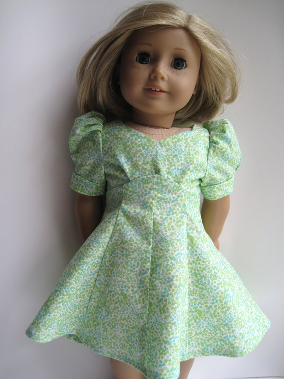 1940's Sweetheart Historical Dress for your American Girl Doll