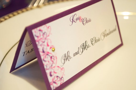 Wedding Escort Cards/place cards