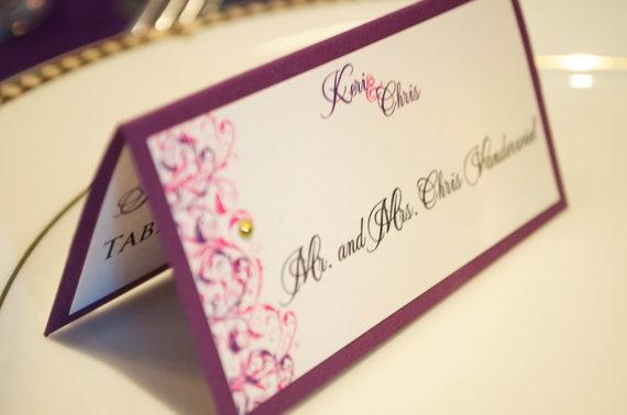 Wedding Escort Cards/place cards