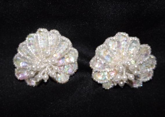 Vintage Glam Wedding Shoe Clips Sparkly