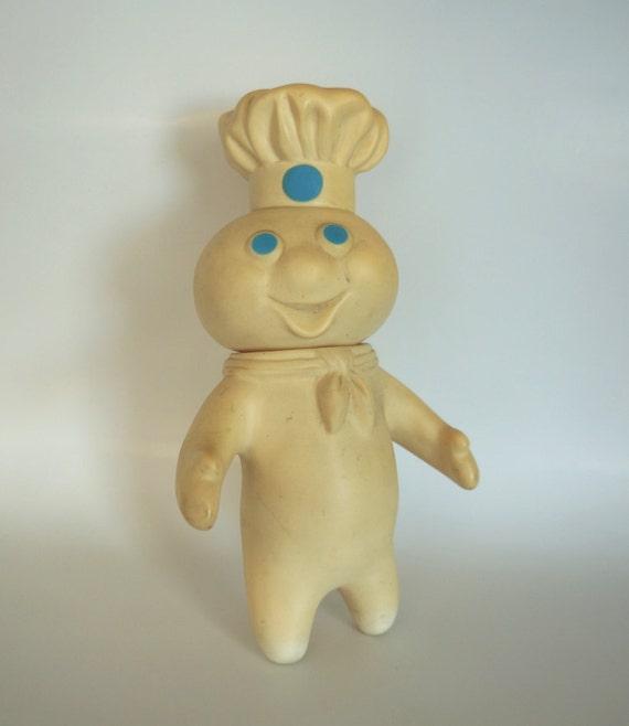 Vintage Poppin' Fresh Pillsbury Doughboy Vinyl Doll
