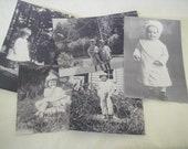 Vintage Photos of Children for Artwork or Scrapbooking
