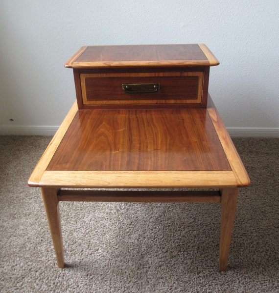 1950s Mid Century End Table By Lane Furniture