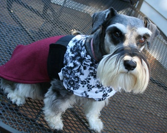 The Bohemian Bow Wow 'The Sophie' dog warmer dog coat medium