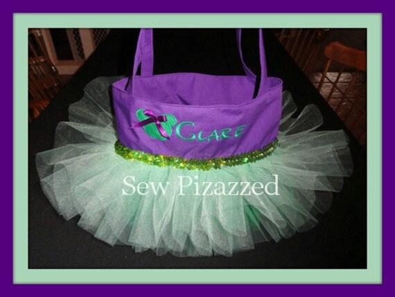 Ariel / Little Mermaid Tutu Tote Bag