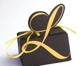 Monogram Favor Box