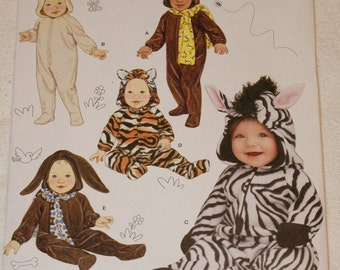 New Simplicity Baby Sleepwear  Costumes  1767 size Xsmall to large