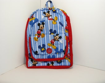 Mickey Mouse in Red Preschool Backpack