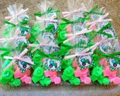 10 TRACTOR SOAP FAVORS (with Tags & Ribbons) - Deere Inspired Birthday, Tractor Baby Shower, Construction Birthday, Farm