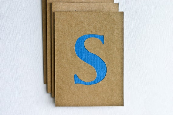 Papercut Personalized Stationery in Blue