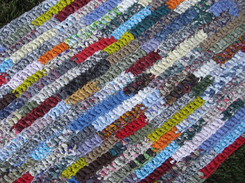 Crochet Pattern Oval Rug : crochet rag rug oval runner Painters Palette