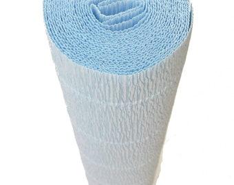 Italian Crepe Paper roll 180 gram  -  559 BABY BLUE