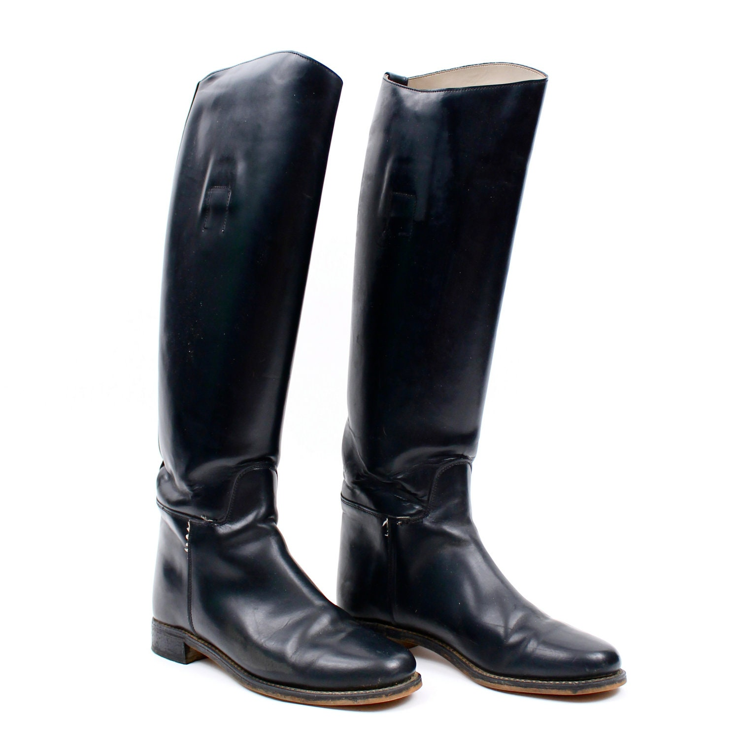 Awesome WOMENS LADIES FUR TRIM HORSE RIDING YARD COUNTRY BOOTS FAUX LEATHER GRIP SOLE | EBay