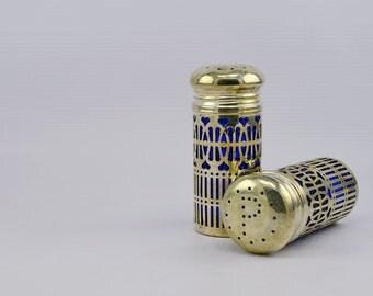 Vintage Paul Revere Silversmiths Godinger Salt and Pepper