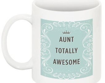 Aunt Gift, Coffee Mug, Gift for Aunt