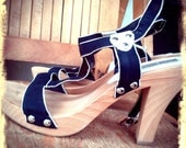 WOOD   ///   Strappy Wooden Platforms