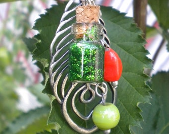 Morphing Transformation Potion Charm Necklace