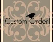 CUSTOM ORDER for Natalie - Jewelry Frame