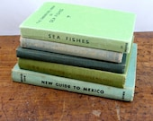Vintage Little Shabby Chic Book Collection - Blues & Greens