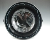 Koi Fish Serving Bowl