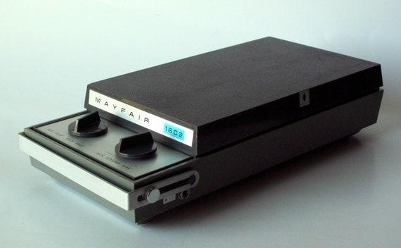 Portable Mayfair 1602 Reel to Reel Tape Deck
