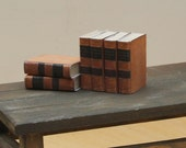1:6 scale books for Bookcase for OOAK Dollhouse or Diorama (Blythe, Barbie, 12'' Fashion dolls, Bratz, Momoko)