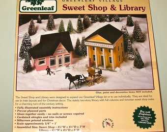 Greenleaf Village Sweet Shop & Library Kit