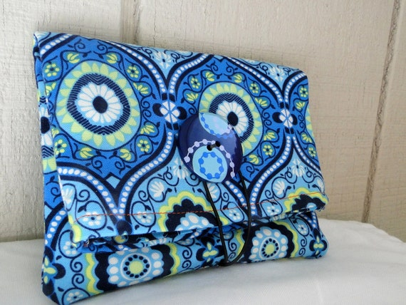 Custom listing for Marissa - Simple Fold Over Wallet - Amy Butler LARK - Ready To Ship