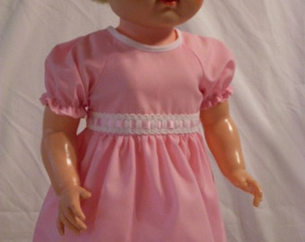"19-20"" Pink Dress and Panty Set"