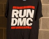 1987 Run DMC Raising Hell Tour Tshirt - RARE