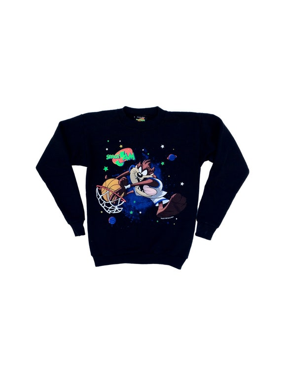 Authentic 90s Space Jam Crewneck - XS / YL