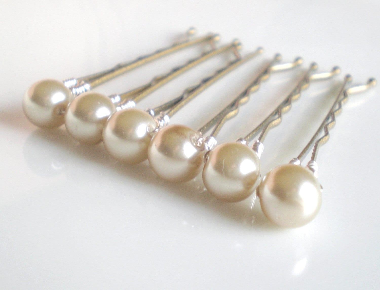 pearl wedding hair pins - new sale