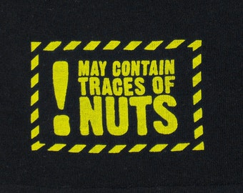 Boxer Shorts Men Underwear May Contain Traces of Nuts Screenprint Undies sizes S, M, L