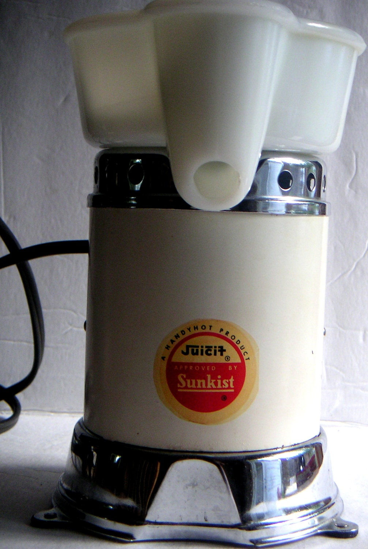 Vintage Electric Juicer Handyhot Juicit Approved By Sunkist
