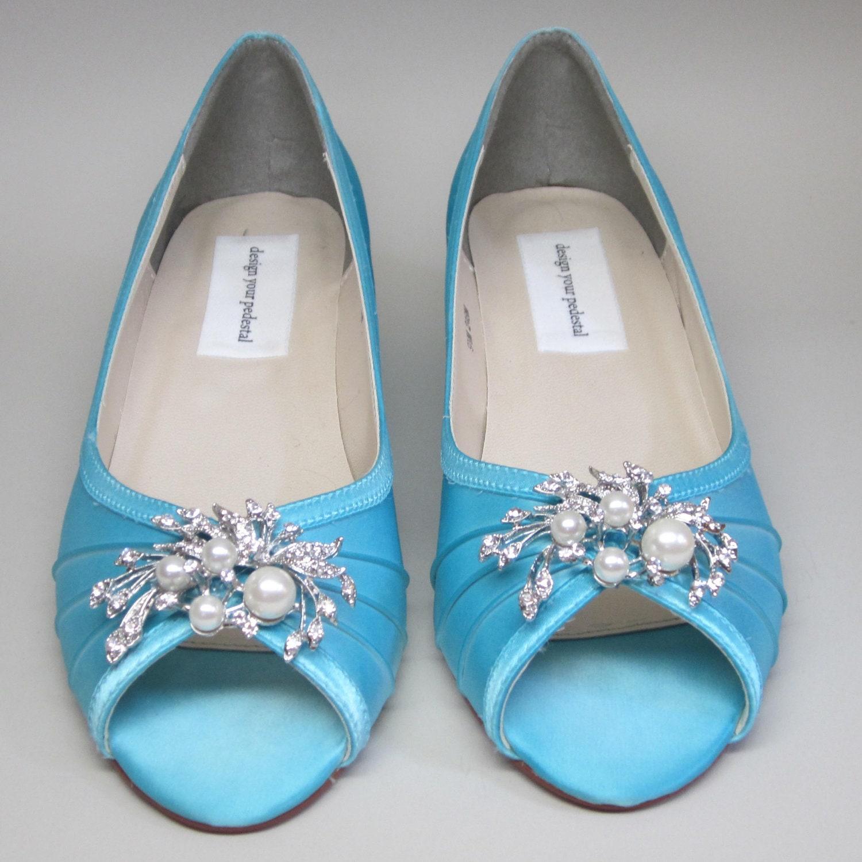 SAMPLE SALE Custom Wedding Shoes Tiffany By