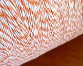 50 Yards Orange and White Bakers Twine - (150 Feet)