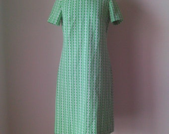 60s Mod Spearmint Dress