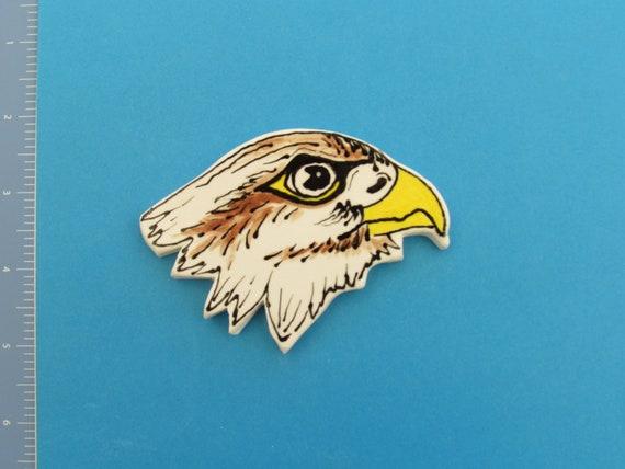 Eagle Head - Ceramic Mosaic Tile