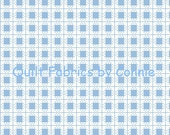 Beatrix Potter's Mrs. Tiggy-Winkle Fabric Collection - Blue Gingham - 1 Yard