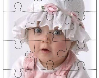 Create Your Own 12 Piece Photo Puzzle