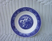 Vintage Blue Willow Pattern Royal China Soup Coupe