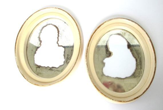Haunted House Vintage Ghostly Mirrors Frames
