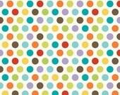 Good Life by Deena Rutter for Riley Blake Designs, Dots Multi, SKU C2883, 1 yd
