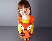 girls dress fox baby dress up