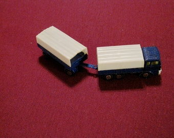 Vintage Yatming Die Cast Truck and Trailer