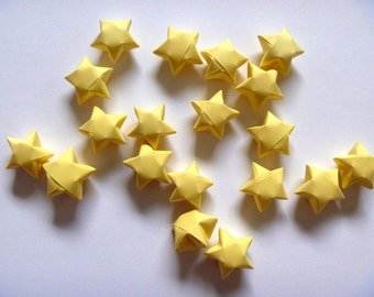 100 Origami Stars - Starlight Yellow